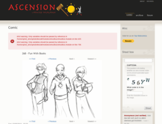 spiral.sincomics.com screenshot