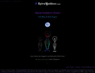 spiralgoddess.com screenshot