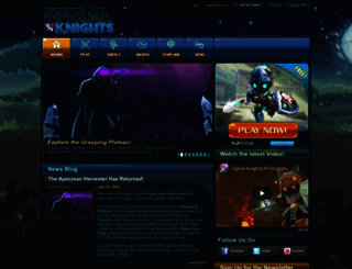 spiralknights.com screenshot