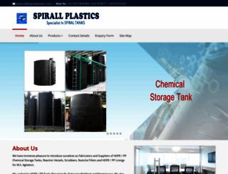 spirallplastics.com screenshot
