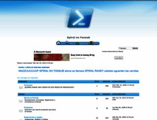 spiralnofansub.foroactivo.com screenshot
