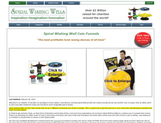 spiralwishingwells.com screenshot