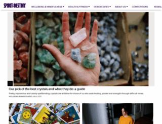 spiritanddestiny.co.uk screenshot