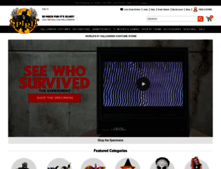 spirithalloween.com screenshot