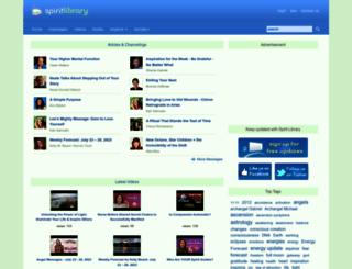 spiritlibrary.com screenshot