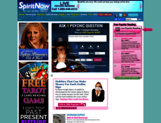 spiritnow.com screenshot
