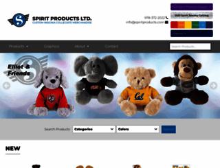 spiritproducts.com screenshot