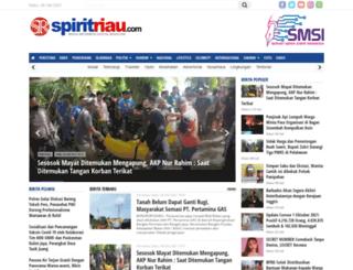 spiritriau.com screenshot