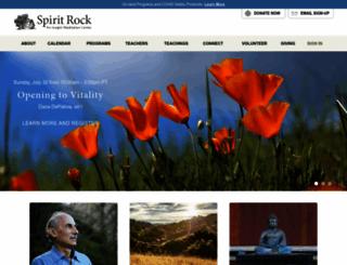 spiritrock.org screenshot