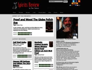 spiritsreview.com screenshot