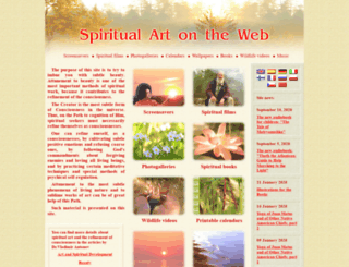 spiritual-art.info screenshot