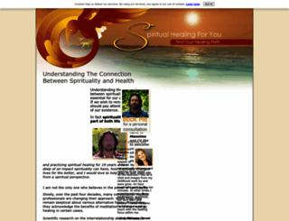 spiritual-healing-for-you.com screenshot