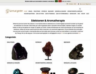 spiritualgarden.nl screenshot