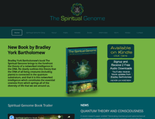 spiritualgenome.com screenshot