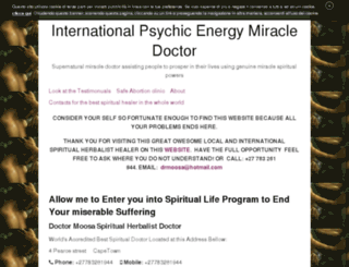 spiritualist.altervista.org screenshot