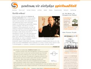 spiritualiteit.co.za screenshot