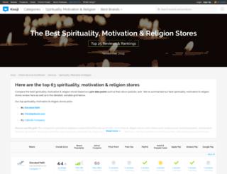 spirituality.knoji.com screenshot