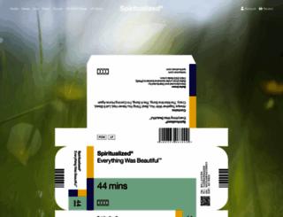 spiritualized.com screenshot