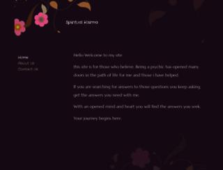 spiritualkarma.net screenshot