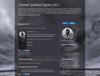 spiritualquotes2012.blogspot.com screenshot