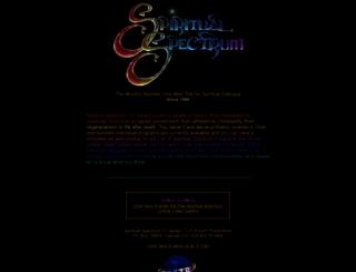 spiritualspectrum.org screenshot