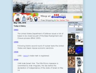 spiritus-temporis.com screenshot