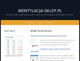 spisik.wentylacja-sklep.pl screenshot