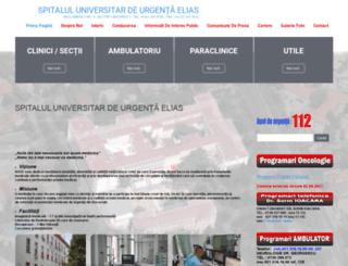spitalul-elias.ro screenshot