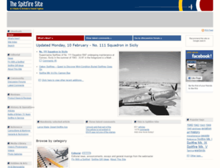 spitfiresite.com screenshot