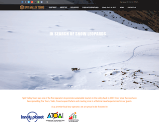 spitivalleytours.com screenshot