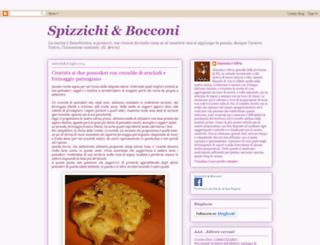 spizzichiandbocconi.blogspot.com screenshot