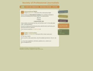 spj.truman.edu screenshot