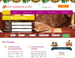 spkmarriagelines.com screenshot
