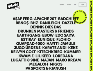 splash-festival.com screenshot