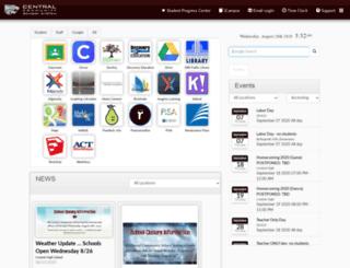 splash.centralcss.org screenshot