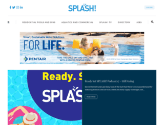 splashmagazine.com.au screenshot