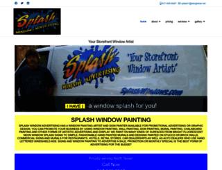 splashwindows.com screenshot