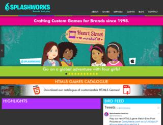 splashworks.com screenshot