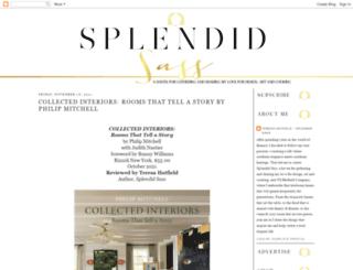 splendidsass.blogspot.com screenshot