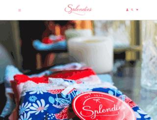 splendies.myshopify.com screenshot