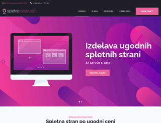 spletnomesto.com screenshot
