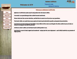 splinterscraftworks.us screenshot