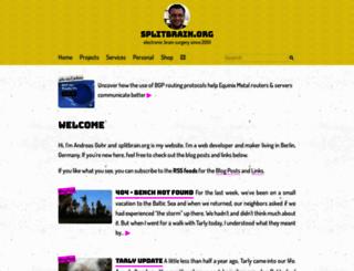 splitbrain.org screenshot