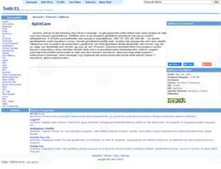 splitcam-indir.indir21.com screenshot