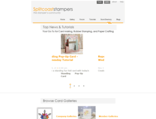 splitcoaststampers.com screenshot