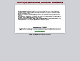 splitdownloader.ehubsoft.net screenshot