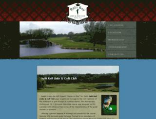 splitrailgolf.com screenshot
