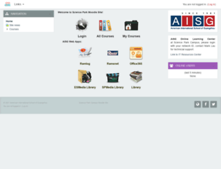 spmoodle23.aisgz.org screenshot