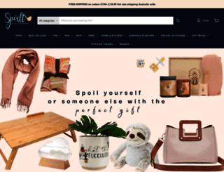 spoiltgiftandhomewares.com.au screenshot