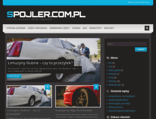 spojler.com.pl screenshot